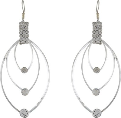 One Stop Fashion Elegant And Stylish Silver Colour Alloy Dangle Earring