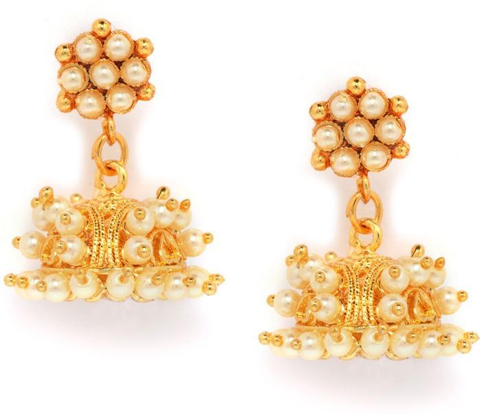 Deals - Delhi - Jhumkas <br> Festive Earrings<br> Category - jewellery<br> Business - Flipkart.com