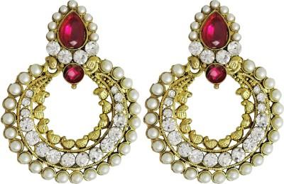 Aura Collection Statement21 Alloy Chandbali Earring