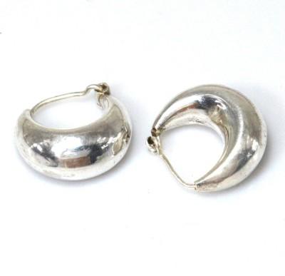 Anavaysilver Ear033 Sterling Silver Hoop Earring
