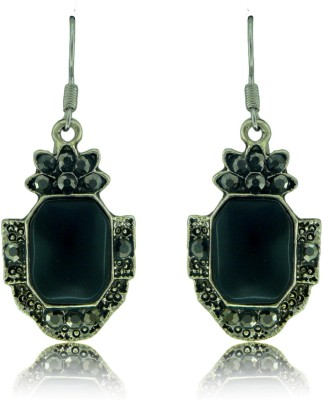 Camy Black Antique Casual Alloy Dangle Earring