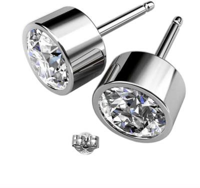 Glimmering Diamond Swarovski Crystal Alloy Stud Earring