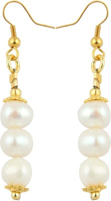Pearlz Ocean Exciting Pearl Alloy Dangle Earring