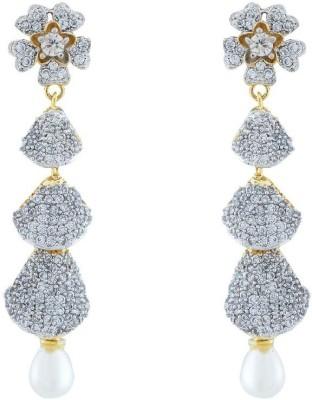 Jewlot Fabulous AD 2013 Brass Drop Earring