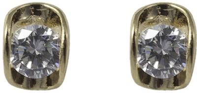 Gildermen GMEA16BBRR22 Cubic Zirconia Alloy Stud Earring