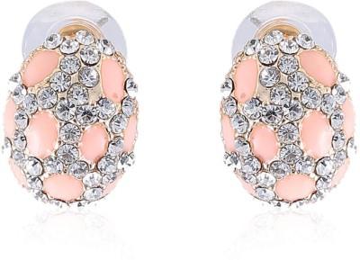Vastradi Jewels Brass, Alloy Stud Earring
