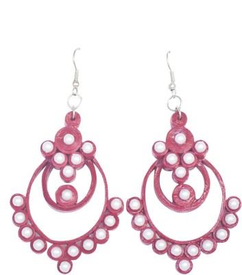 Kalarasika Pearl Paper Dangle Earring