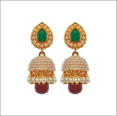 sonchafa ethnic peshwai Metal Jhumki Earring, Drop Earring