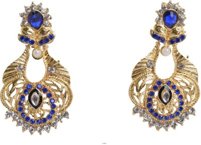 Graykart fashion imitation antique temple traditional Artificial Jewellery Zinc Chandbali Earring