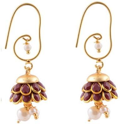 shree shyam handicraft Pacchi Brass Jhumki Earring