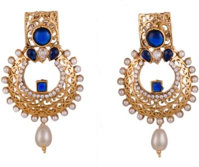 R18Jewels-Fashion&U Royal Princess_Delight Metal, Crystal Chandbali Earring