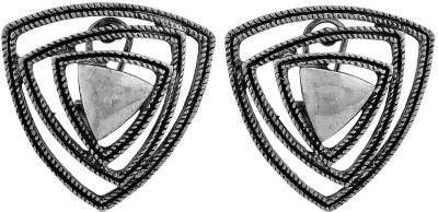 Maayra Beautiful Indian Ethnic Crystal Alloy Clip-on Earring