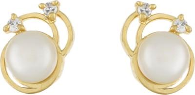Jewel Planet New Look Pearl Alloy Stud Earring