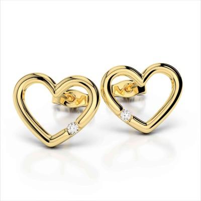 JDX LOVE Swarovski Zirconia Silver Stud Earring