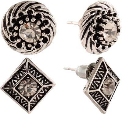 Anokhi Ada Rhombii and Cyclone Metal Stud Earring