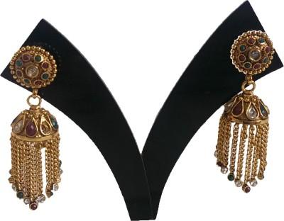 PatelBrothers Jhumka Copper Jhumki Earring