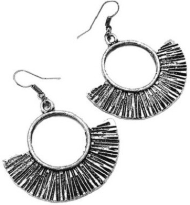 Bling-Bling Oxidised Silver Antique Hanging Alloy Dangle Earring
