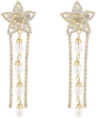 EB shine Diamond Brass Jhumki Earring