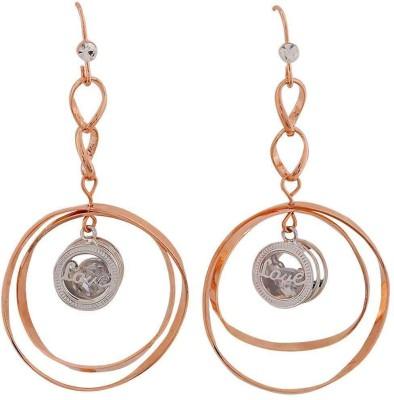 Maayra Sexy Designer Crystal Alloy Dangle Earring
