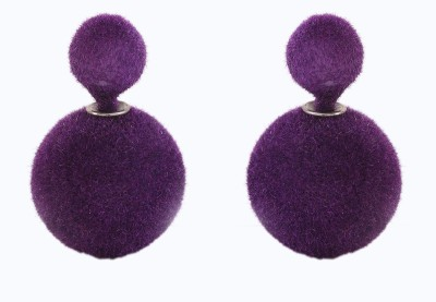 Jewel Touch Beautiful Velvet Touch Alloy Stud Earring