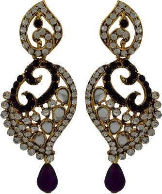 High Trendz Saga Zircon Alloy Drop Earring