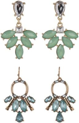 Jewelizer Circle of Life Alloy Earring Set