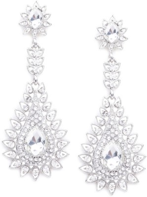 Rubans Fashion Crystal Metal Drop Earring