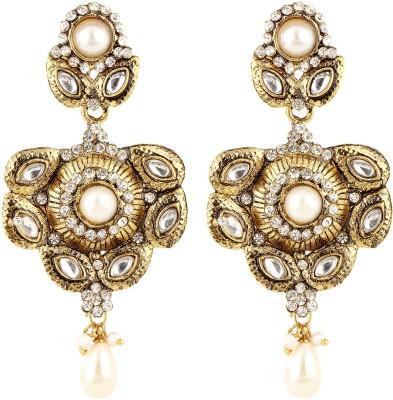 Coash Vintage Appeal Alloy Chandbali Earring