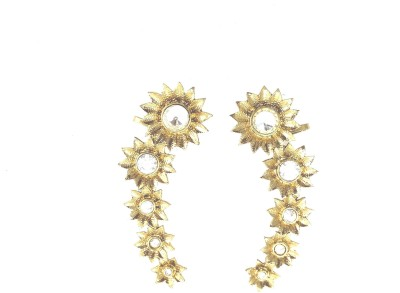Fashion Pitaraa Trendy Lady Copper Cuff Earring
