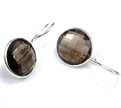 Anavaysilver Ear014 Quartz Sterling Silver Dangle Earring