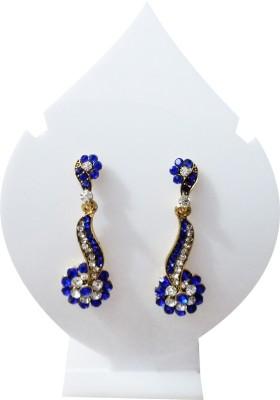 Verceys Fashion Jewellery Crystal Alloy Drop Earring