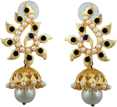 Kshitij Jewels Traditional Alloy Jhumki Earring