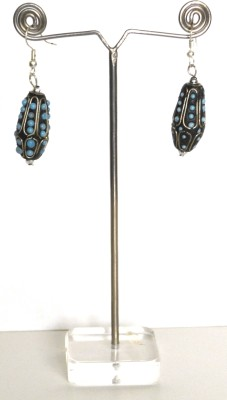 Deal And Gift Ovel type Resin Dangle Earring