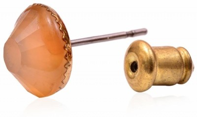 Trendy Baubles Metal, Glass Earring Set