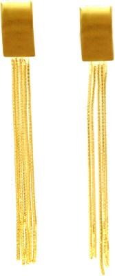 FASHION ERA Golden charming Metal Tassel Earring
