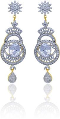 RC Designer Brass Dangle Earring