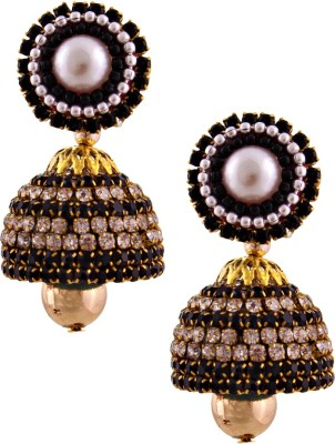 Halowishes EAR209 Paper Jhumki Earring