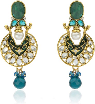Veracious Jewellery Exclusive Kudan Copper Chandelier Earring