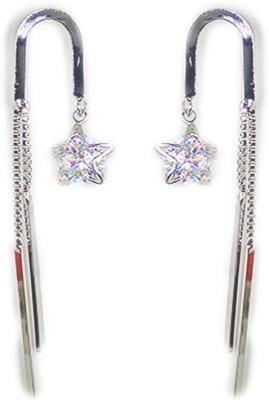 000 Fashions Umbrella with star tassel Earrings Crystal Alloy Dangle Earring