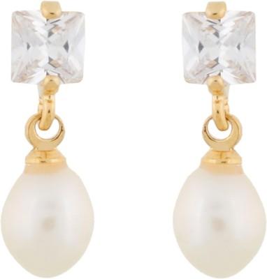 Janki Jewellers Dynamic Pearl Alloy Drop Earring