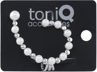 ToniQ Pearl Paradise Single Metal Cuff Earring