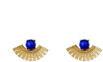 A Bit of Me Bold Fervor Blue Alloy Dangle Earring