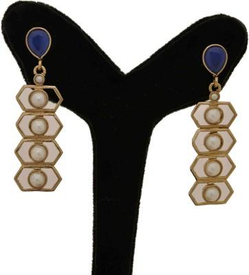 Arohi Jewells & Gems AJG45 Copper Drop Earring