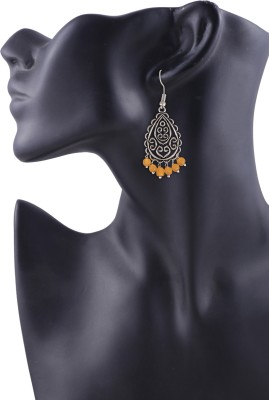 Arittra Pure Style German Silver Dangle Earring