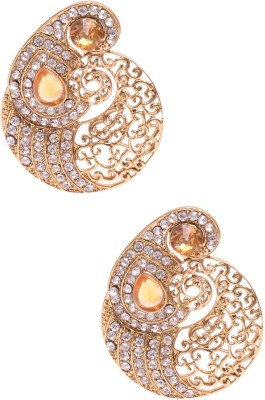 Rubena Adorable Cubic Zirconia Alloy Stud Earring