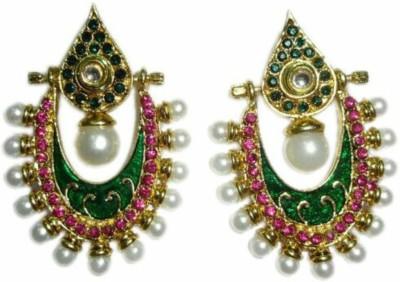 Y-RUS Reversable Jhumka Alloy Chandbali Earring