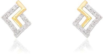 Jewels Choice Party wear Diamond Gold Stud Earring