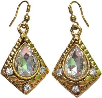 NM Products Stylish Gold Copper Dangle Earring