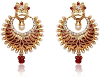 Subh Meenakari Alloy Dangle Earring