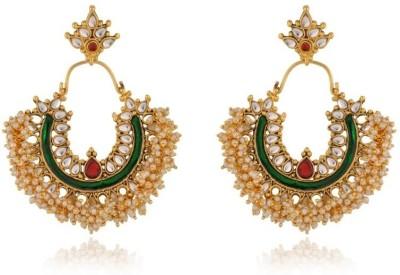 Rooh Jewellery Moti Chand Bali Copper Dangle Earring